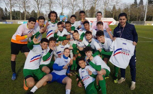 Calendrier Championnat De France Unss 2022 Déodat de Séverac, Champion de France UNSS – LIGUE DE FOOTBALL D