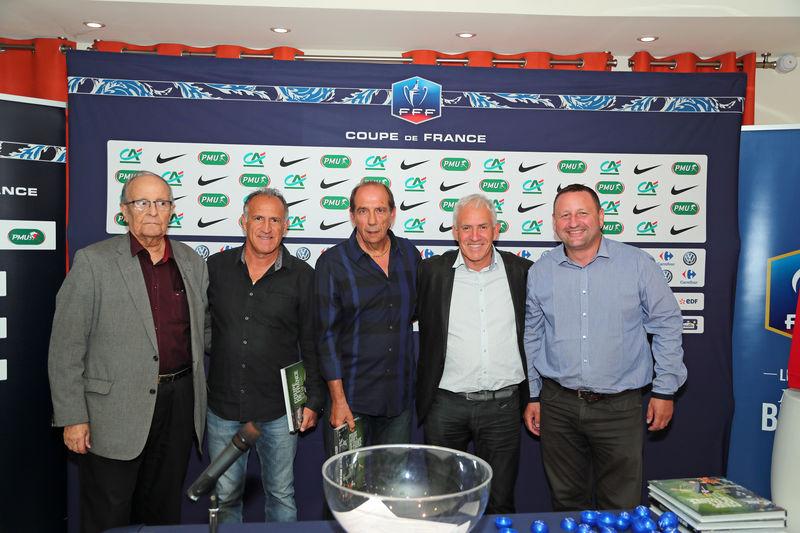 Tirage au sort 5 me tour coupe de france secteur lr ligue de football d 39 occitanie - Tirage au sort 8eme tour coupe de france ...